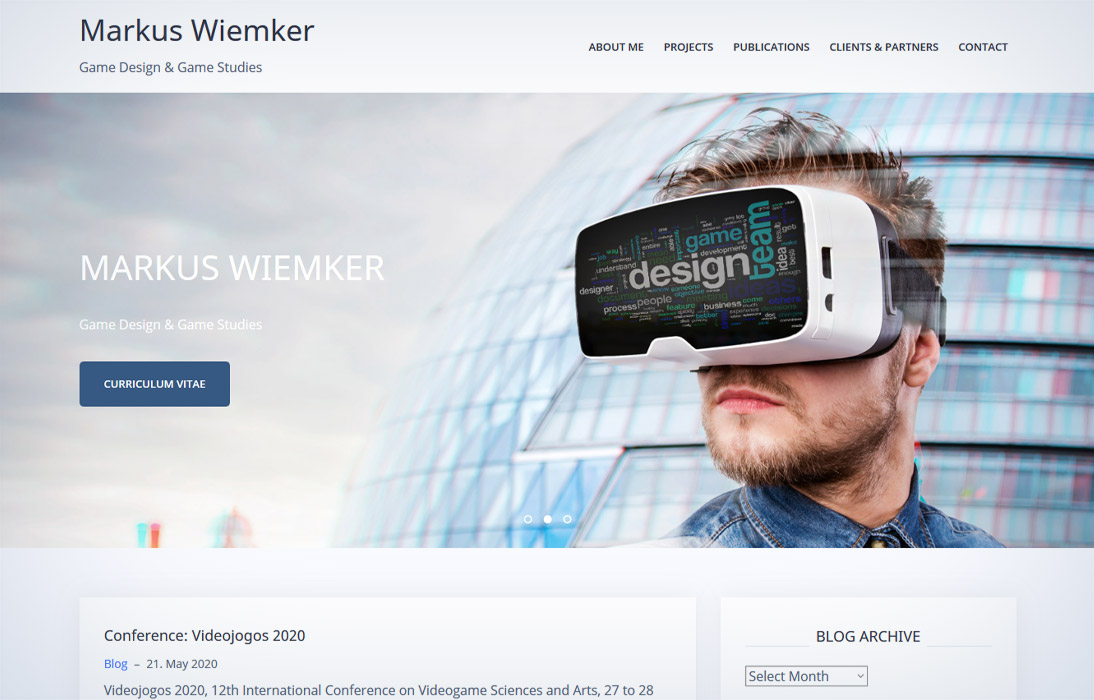 Wordpress | Markus Wiemker